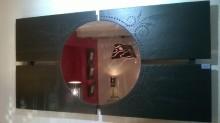 miroir mural 4 ardoises